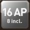 16 AP