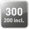 300 utilisateurs