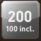 200 utilisateurs maximum