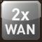 2x WAN