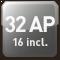 32 AP