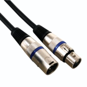 Câble audio Pro XLR XLR Mâle XLR Femelle 3 con.10m