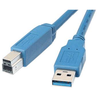 Câble USB 3.0 A Mâle / B Mâle 5m