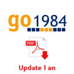 Abonnement udate 1 an pour Go1984 Ultimate