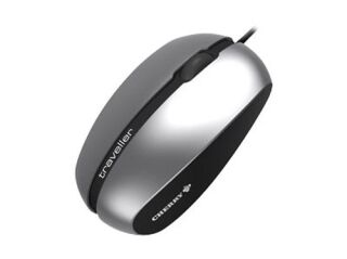 SOURIS TRAVELLER CORDED LASER MOBILE MOUSE CHERRY