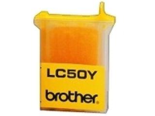 Cartouche d'encre LC50Y jaune