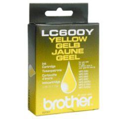 Cartouche d'encre LC600Y jaune