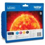 Pack Cartouche d'encre LC980P 4 couleurs