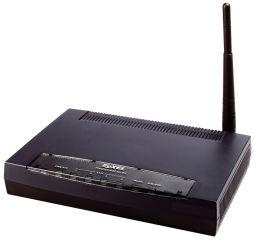 Modem routeur firewall ADSL2 4 Lan Wifi g 2 tun.