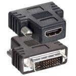 Adaptateur vidéo DVI-D Mâle / HDMI Femelle