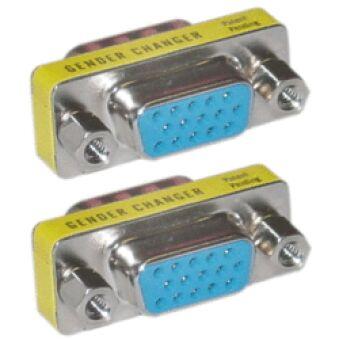 Adaptateur DB15HD Femelle / Femelle
