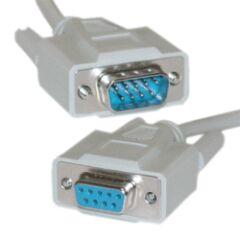 Câble DB9 full pin Mâle / Femelle 1.8m