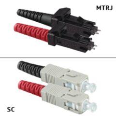 Jarretière OM2 MTRJ/UPC SC/UPC Duplex Primacy 15m