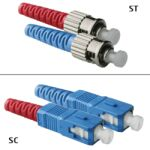 Jarretière OS2 SC/UPC ST/UPC Duplex Primacy 1m