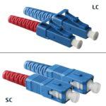 Jarretière OS2 LC/UPC SC/UPC Duplex Primacy 2m