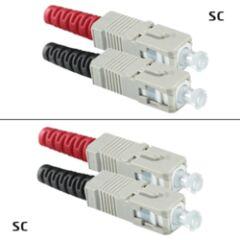 Jarretière OM2 SC/UPC Duplex Primacy 3m