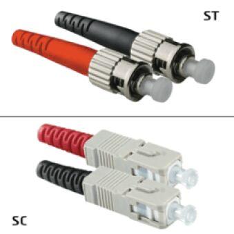 Jarretière OM2 SC/UPC ST/UPC Duplex Primacy 1m