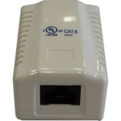 Prise monobloc 1 RJ45 U/UTP Cat 6
