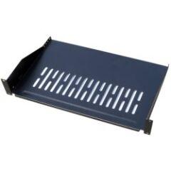 Plateau 19' porte modem 2U noir