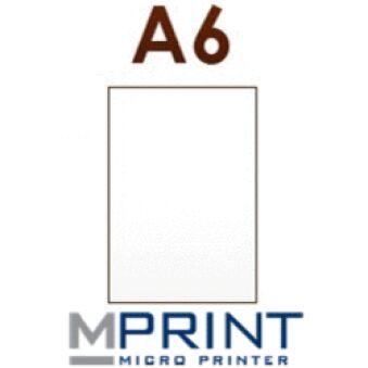 Papier carbone A6 2 onglets 20x30 feuilles