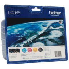 Pack Cartouche d'encre LC985P 4 couleurs
