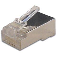 Sachet de 10 connecteurs RJ45 STP sans insert