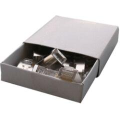 Boîte de 10 connecteurs RJ45 U/UTP sans insert