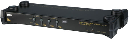 SWITCH KVM PS2 - 4UC/1 CONSOLE 1920x1440 - 1U
