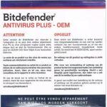 Bitdefender Antivirus Plus OEM 1 an 1 PC