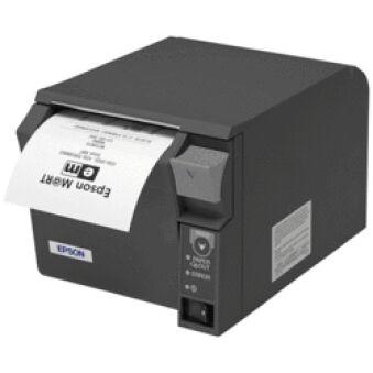 Imprimante tickets de caisse TMT70II USB noire