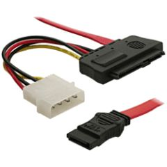 Câble SAS 29 points + Molex / Sata 7 points 50cm