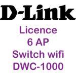 Licence additionnelle 6 AP pour DWC-1000