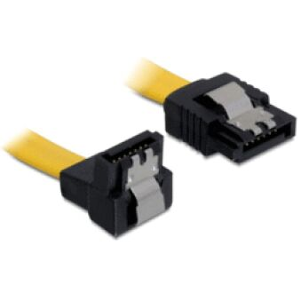 Câble interne Sata 6Gb/s coudé bas longueur 50cm