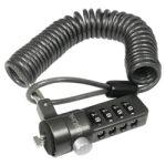 Câble de sécurité spiralé pour encoche 1,8m code