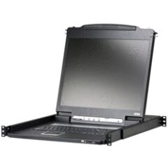 "Console KVM rackable TFT VGA 19"" PS2 & USB"