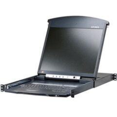 """Console KVM rackable IP TFT 19"""" 8 ports Cat5"""