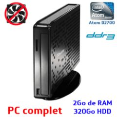 PC Ultra Slim XS35V3 ATOM D2700 - 2Go - 320Go