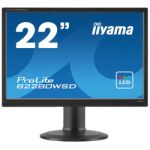 "Moniteur LED 22"" Wide VGA / DVI HP pied ajust."