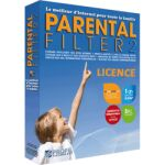 Filtrage Parental 2 Edition profils 3 PC 1 an Lic.