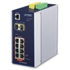 Switch indus man. IP30 8x Giga PoE+ 2 SFP -40/75ø