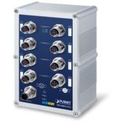 Switch indus IP67 8x 100Mbits M12 -40/75ø