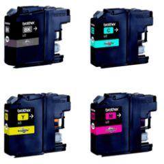Pack de 4 cartouches (BK/C/M/Y) LC121