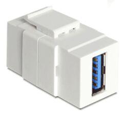 Embase Keystone USB3.0 A femelle >USB3.0 A femelle