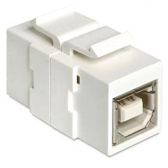 Embase Keystone USB2.0 B femelle >USB2.0 B femelle
