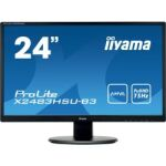 "Moniteur LED AMVA 24"" Full HD VGA/DVI/HDMI"