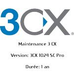 Maintenance 3CX Phone System Pro 1024SC 1 an