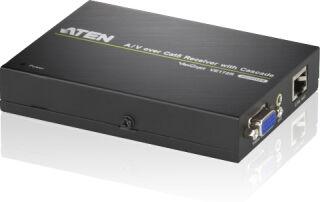 Récepteur vidéo Cat5 pour VS1204/1208 &VE170T 150m