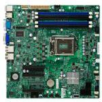 Carte mère Micro ATX X9SCL-F