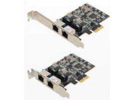 Carte réseau PCI Expres Dual RJ45 Giga