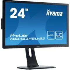 """Moniteur LED AMVA 24"""" Full HD VGA/DP/HDMI Pivot"""